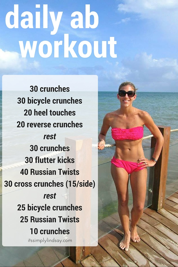 Daily Ab Workout Its Simply Lindsay